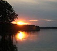 clarks hill sunset